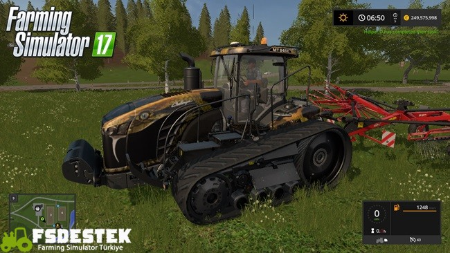 Photo of FS17 – Challenger MT800E Paletli Traktör Yaması V1