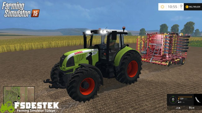 Photo of FS15 – Claas Arion 620 Traktör Yaması V2
