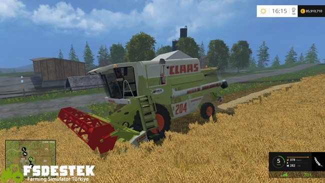 Photo of FS15 – Claas Mega 204 Biçer Döver V1