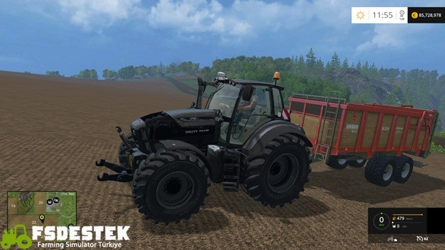 Photo of FS15 – Deutz-Fahr 7250 TTV Traktör Yaması V5