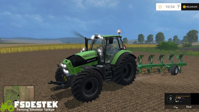 Photo of FS15 – Deutz-Fahr TTV 7250 Traktör Yaması V6