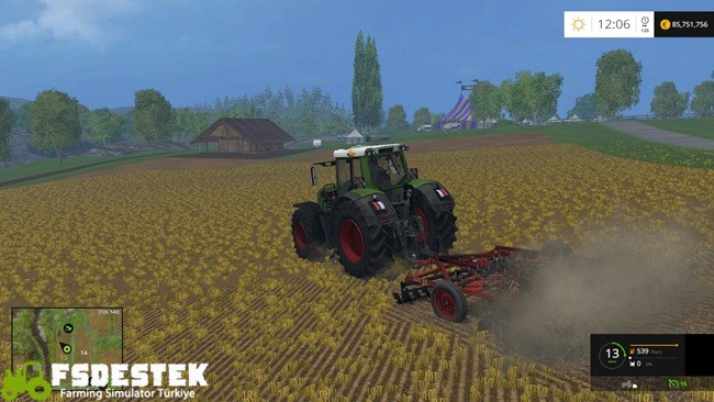 Photo of FS15 – Disc GDU 3 Metrelik Kültivatör Yaması