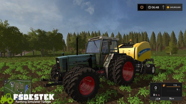 Photo of FS17 – Fendt Farmer 310 LSA Turbomatik V1