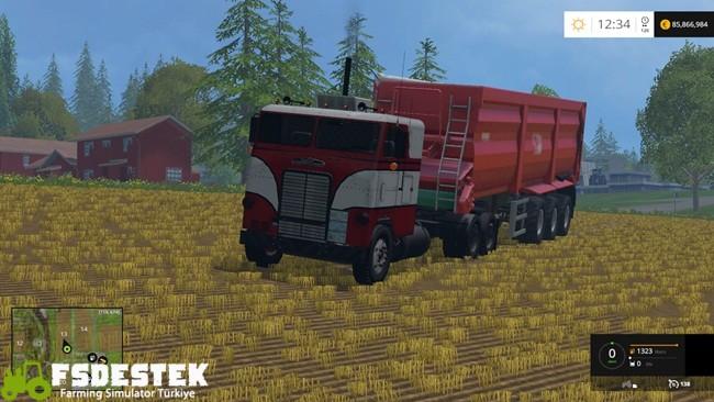 Photo of FS15 – Freightliner Cabover Tır Yaması V1
