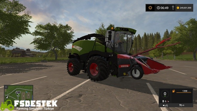 Photo of FS17 Fendt Katana 85 Biçer Döver V1