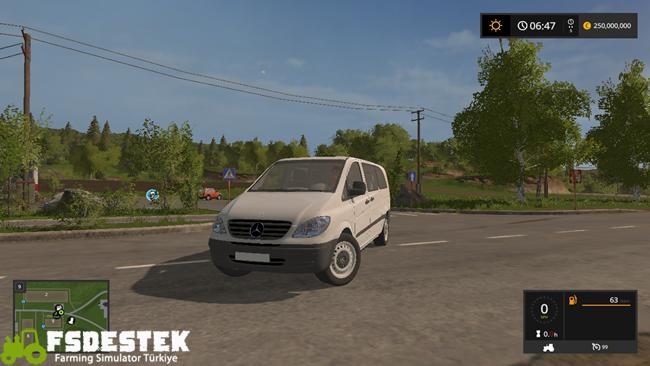 Photo of FS17 – Mercedes-Benz Vito 2005 Model V1