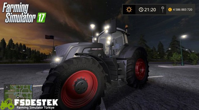 Photo of FS17 – Fendt Vario 900 Siyah Traktör V1