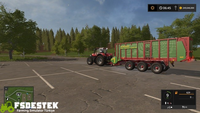 Photo of FS17 –  Strautmann Vitesse 5201 DO Tera Römork V1