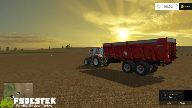 Photo of FS15 – Gilibert Pro 1800 Römork Yaması V1