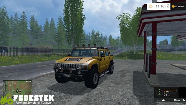 Photo of FS15 – Hummer H2 Araba Modu