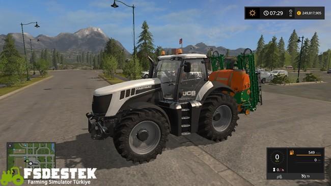 Photo of FS17 – JCB Fastrac 8280 Traktör Yaması