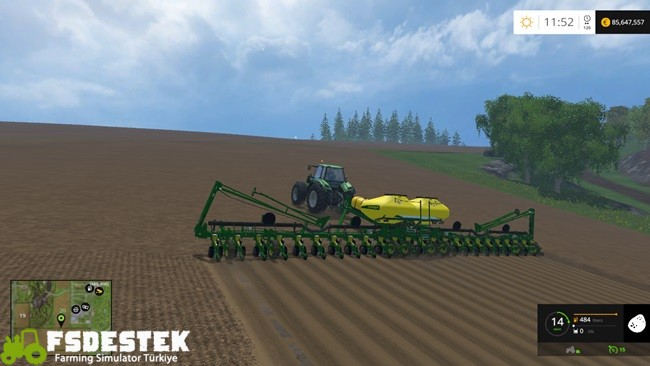 Photo of FS15 – John Deere 117NT Mibzer Yaması V2