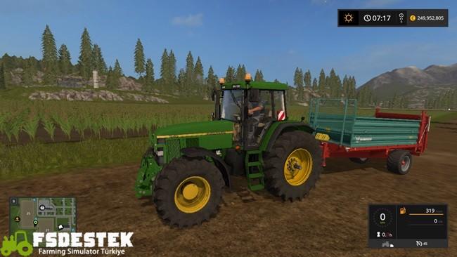 Photo of FS17 – John Deere 7810 Traktör