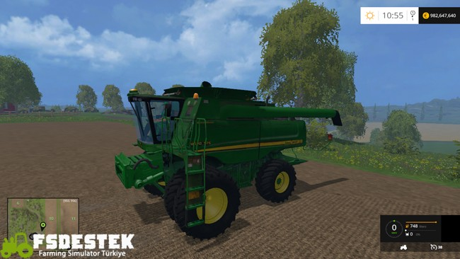 Photo of FS15 – John Deere 9670 STS Biçer Döver V2