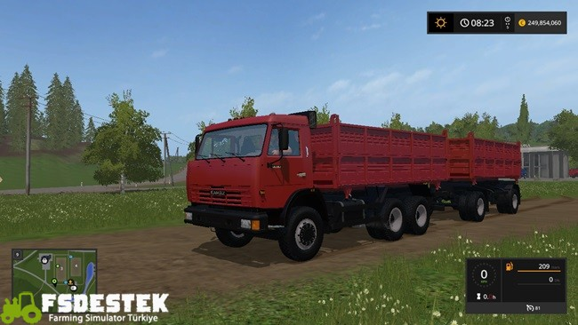Photo of FS17 – Kamaz 45143 + Römork