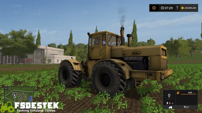 Photo of FS17 – Kirovets K700 Traktör V1.1