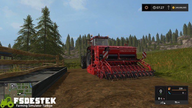 Photo of FS17 – Kuhn Sitera 3000 Mibzer V1.1