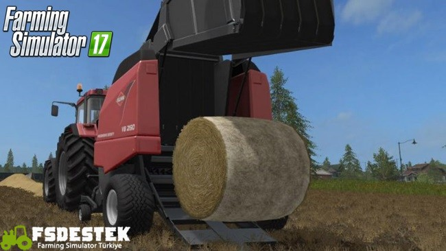 Photo of FS17 – Kuhn VB 2190 Balya Makinası