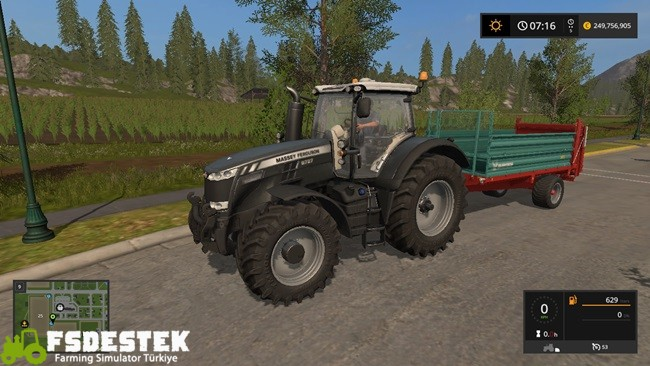Photo of FS17 – Massey Ferguson 8732 Siyah Traktör