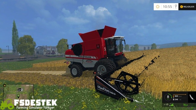 Photo of FS15 – Massey Ferguson 9895 Biçer Döver Yaması V1