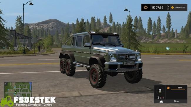 Photo of FS17 – Mercedes-Benz G65 AMG 6×6 Pick-up Yaması V1