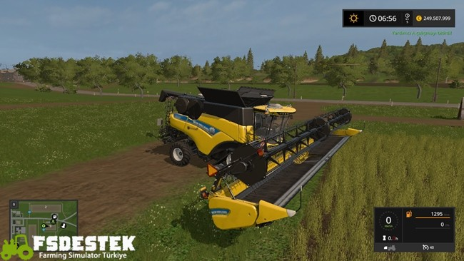 Photo of FS17 – New Holland CR10.90 Biçer Döver V1