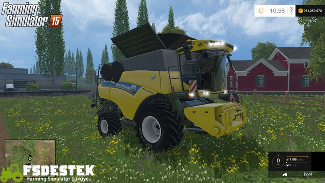 Photo of FS15 – New Holland CR 9.90 Biçer Döver Yaması