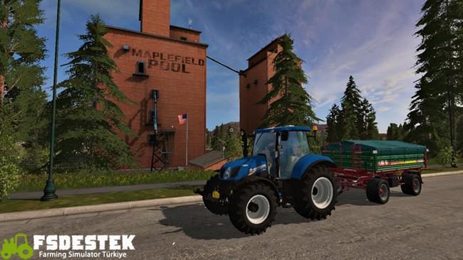 Photo of FS17 – New Holland T6 Traktör V1