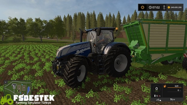 Photo of FS17 – New Holland T7 Güçlü Traktör