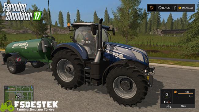Photo of FS17 – FS17 New Holland T7 Traktör V1