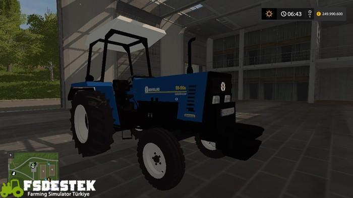 Photo of FS17 – New Holland 55-56 S Türk Traktörü (FSDESTEK) V1.0