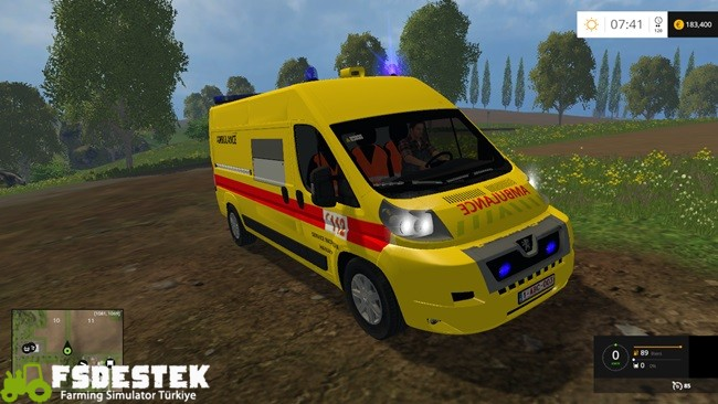 Photo of FS15 – Peugeot VSAV Ambulans Modu