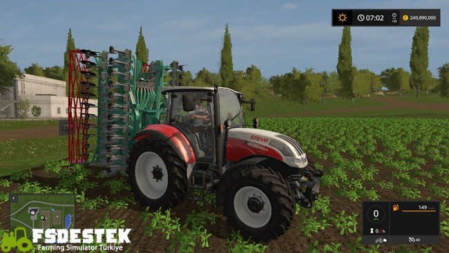 Photo of FS17 – Steyr 4095 Multi Traktör