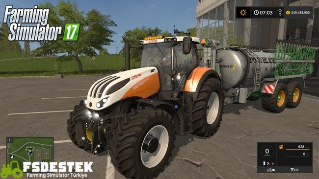 Photo of FS17 – Steyr Terrus CVT Traktör Yaması V1