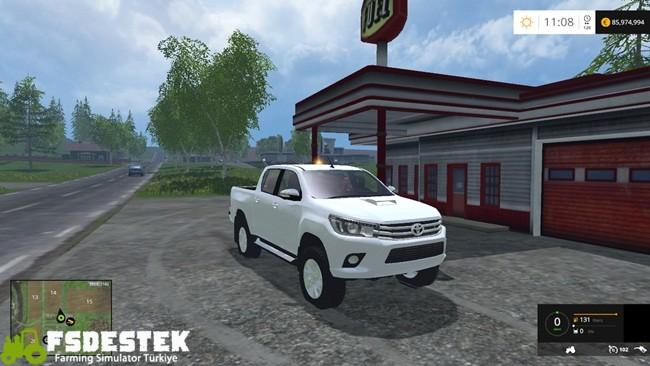Photo of FS15 – Toyota Hilux 2016 Pickup Yaması V1
