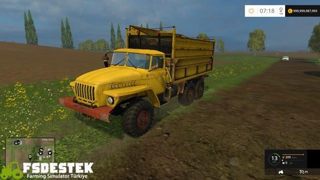 Photo of FS15 – Urals Selhoz Kamyon Modu V1