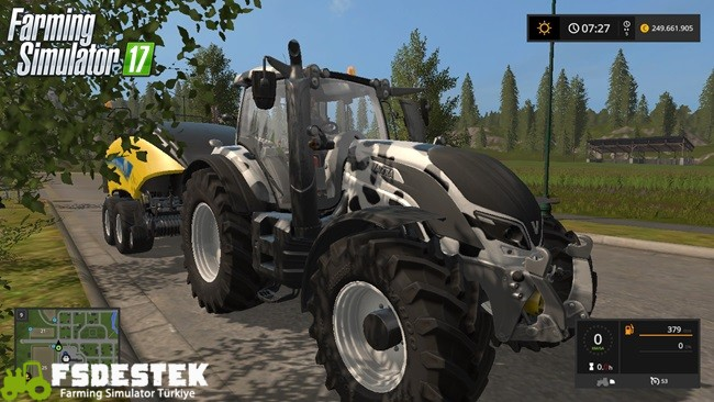 Photo of FS17 – Valtra T Serisi Traktör Yaması V1