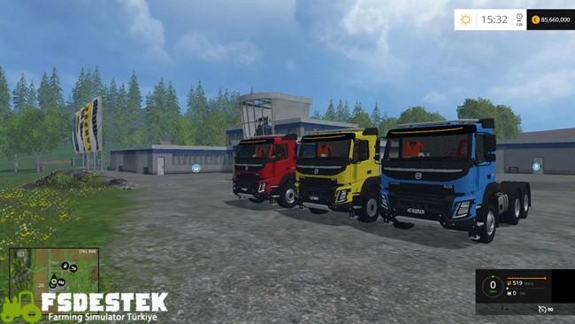 Photo of FS15 – Volvo FMX Kamyon Modu V1
