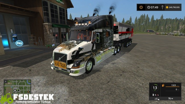 Photo of FS17 – Volvo NL 780 Tır + Dorse Yaması