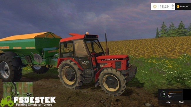 Photo of FS15 – Zetor 7745 Traktör Yaması