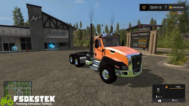 Photo of FS17 – Caterpillar CT660 Kamyon V1.1