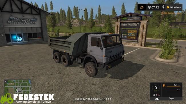 Photo of FS17 – Kamaz 51111 Kamyonet
