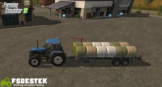 Photo of FS17 -Ursus T127 Plus Balya Taşıma Römorku V1