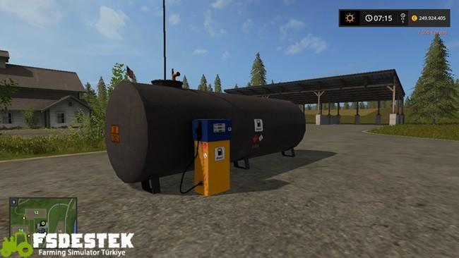 Photo of FS17 – Yerleştirilebilir Benzin İstasyonu V1.3