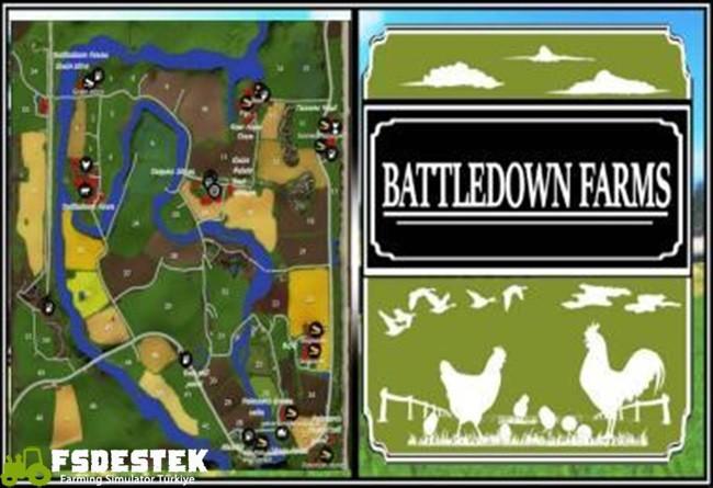 Photo of FS17 – Battledown Çiftlik Haritası V1
