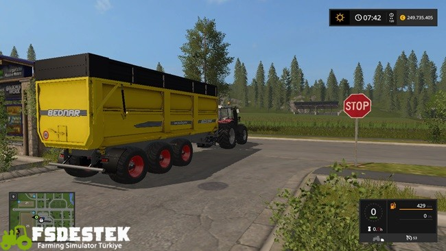 Photo of FS17 – Bednar Wagon WG 270 Römork V1