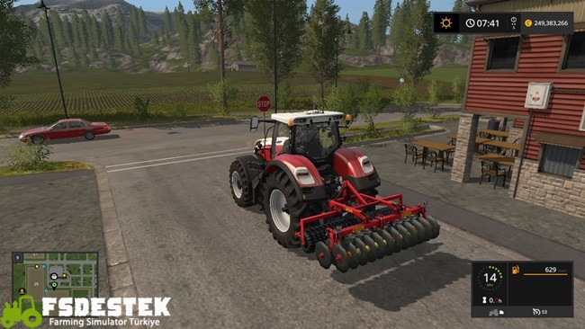 Photo of FS17 – Brix Twinn Kültivatör V1