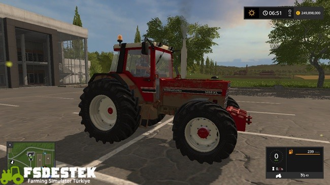Photo of FS17 – Case IH International 1455XL Kırmızı Traktör V1