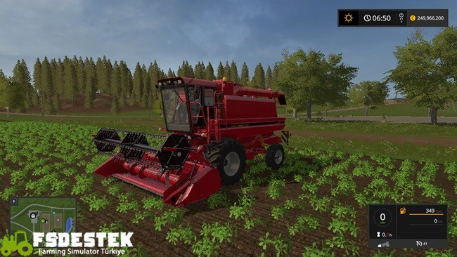 Photo of FS17 – Case IH 1660 Axial Biçer Döver V1.1