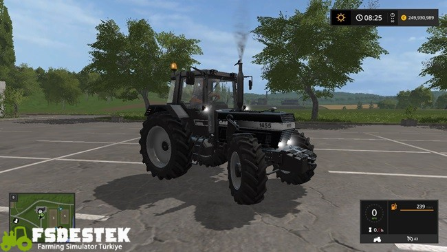 Photo of FS17 – Case IH 1455 Siyah Traktör V1